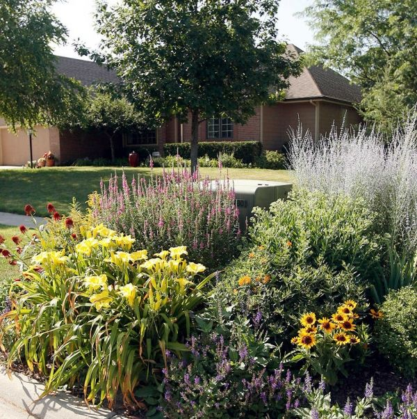 Hiding Utility Box With Landscaping Ann Williamson