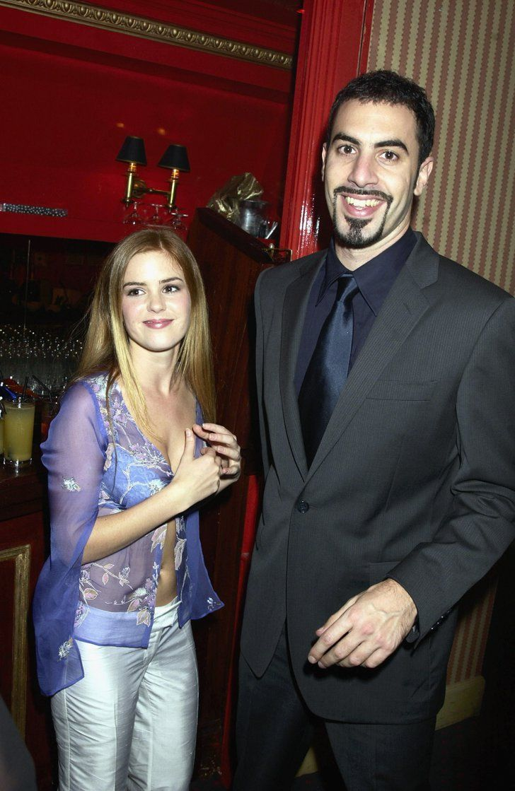 Pin for Later: Flashback to When These Famous Couples Went Public For the First Time Isla Fisher and Sacha Baron Cohen in 2002