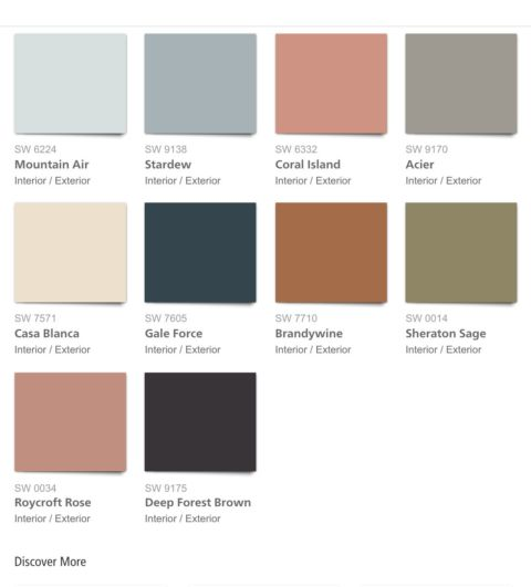 2017 paint color forecasts and trends decor mania - Sherwin williams exterior paint colors 2017 ...