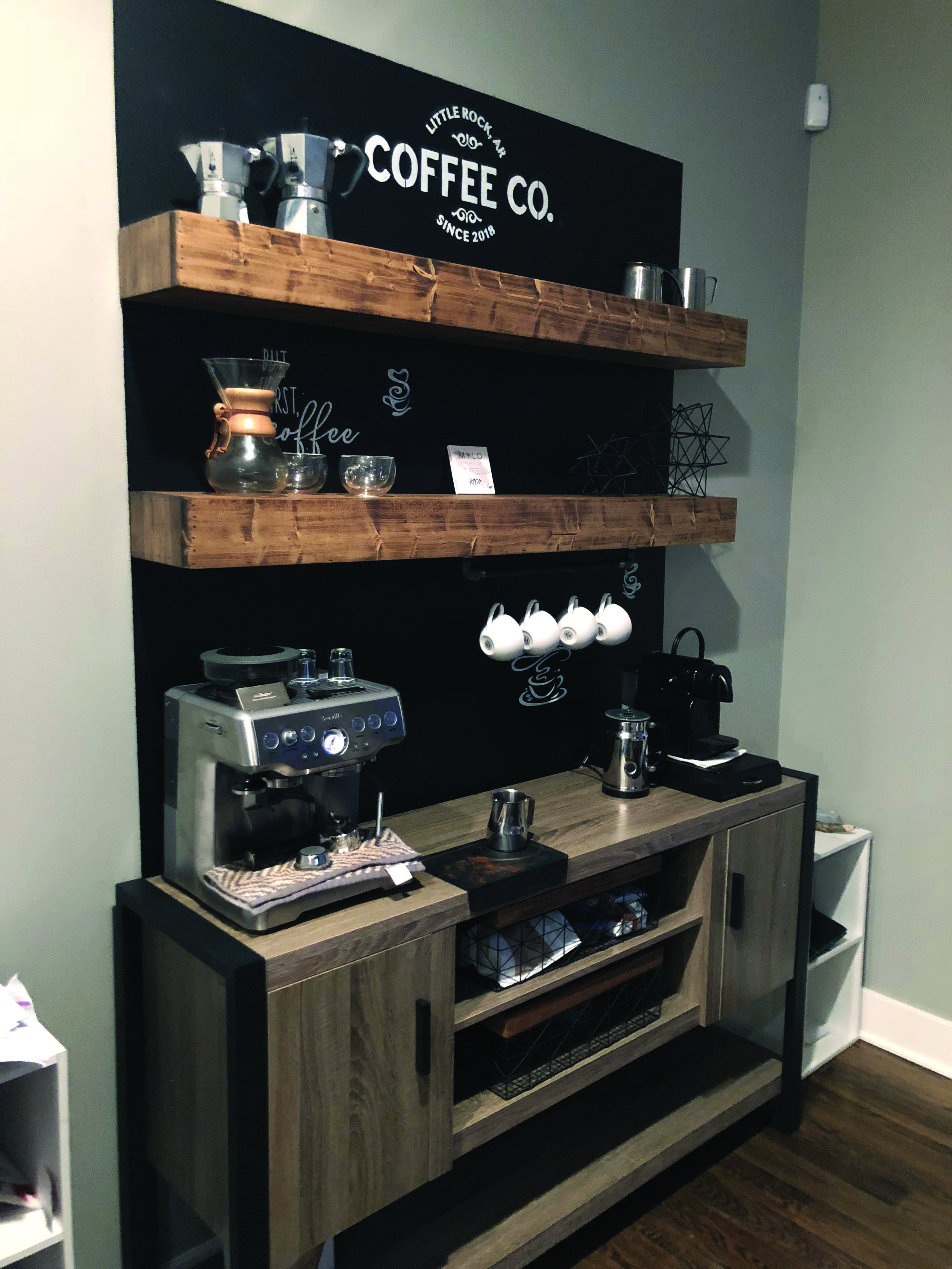 Stylish farmhouse coffee station ideas that will blow your mind