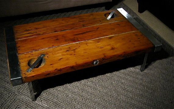 Ww Ii Ships Hatch Cover Coffee Table By Scadesign On Etsy