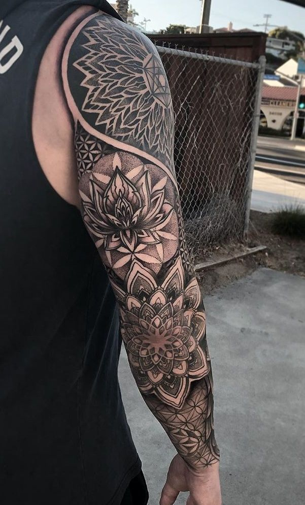 Photo of 30 Photos of geometric tattoos for inspiration [Men and women] – Pictures and Tattoos