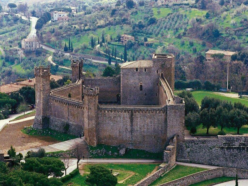 Castello di brunello di montalcino Montalcino italy