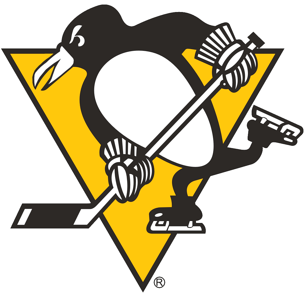 5b7f14377 Pittsburgh Penguins Primary Logo (1973) - A penguin skating