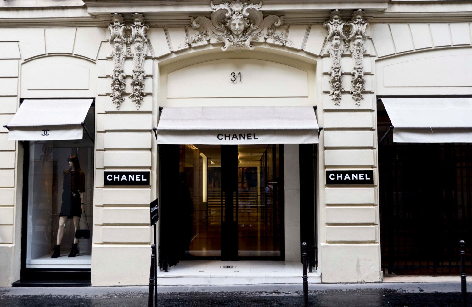 chanel print 31 rue cambon original chanel store in paris france paris print coco chanel. Black Bedroom Furniture Sets. Home Design Ideas