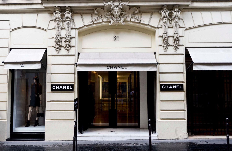 chanel print 31 rue cambon original chanel store in paris france paris print coco chanel. Black Bedroom Furniture Sets. Home Design Ideas