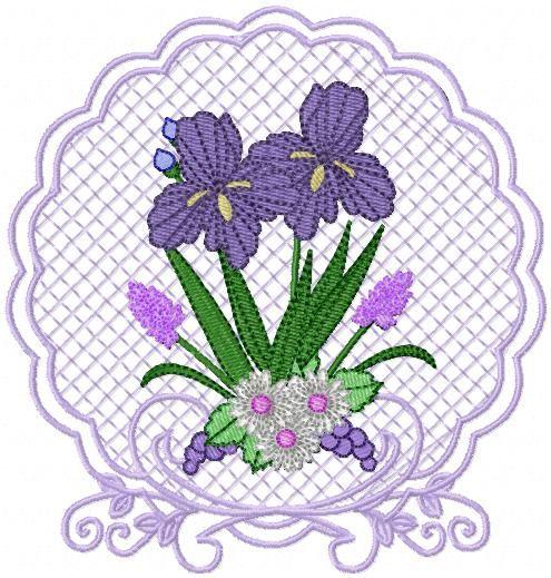 Floral Splendor Cutwork - Google Search