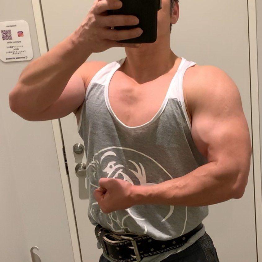 40kg ダンベル プレス