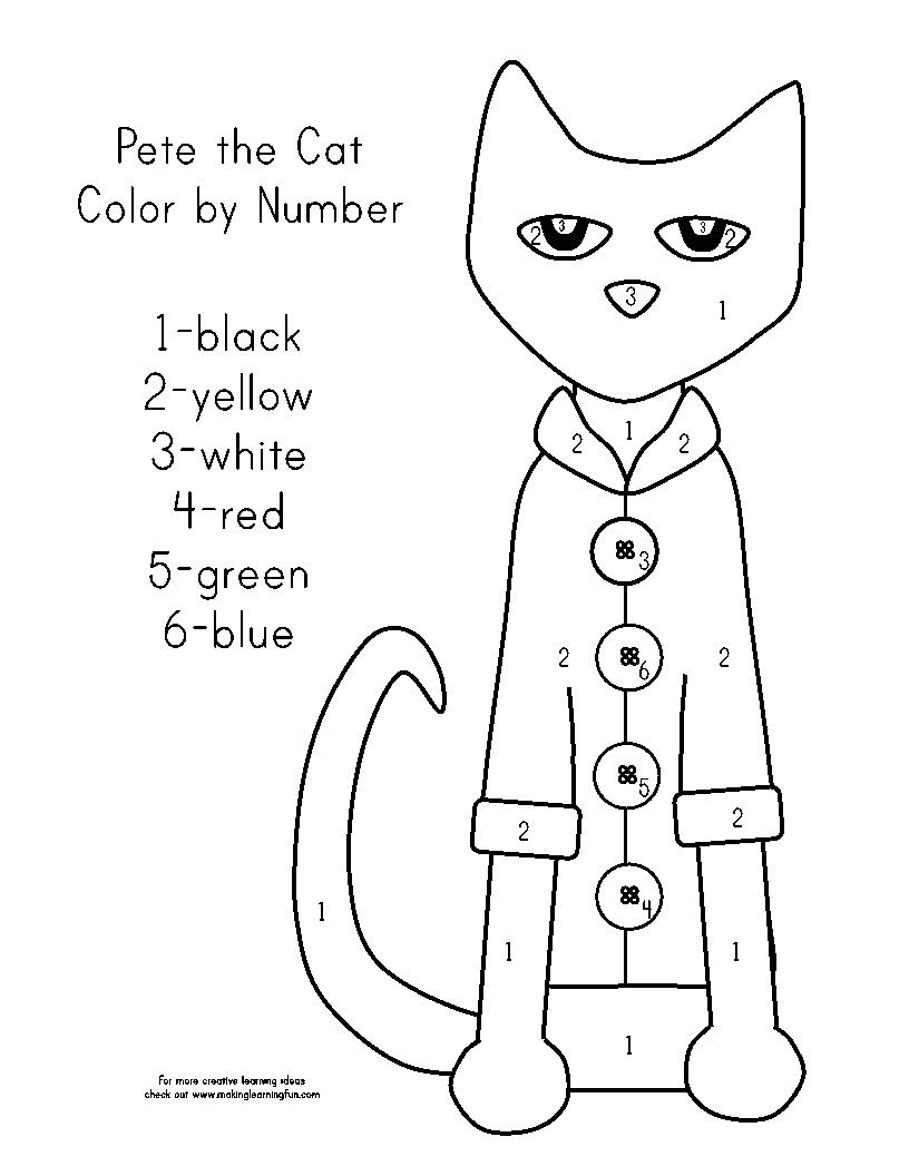Pete The Cat Coloring Page Youngandtae Com Cat Coloring Page Kids Printable Coloring Pages Coloring Pages