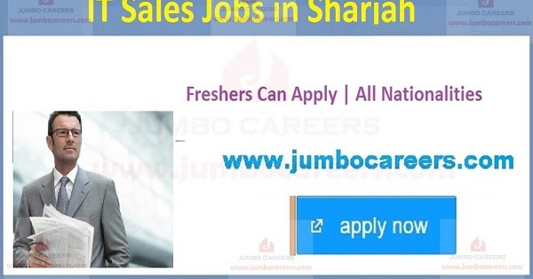 It Sales Jobs In Sharjah With Images Sales Jobs Technology Job Jobs For Freshers