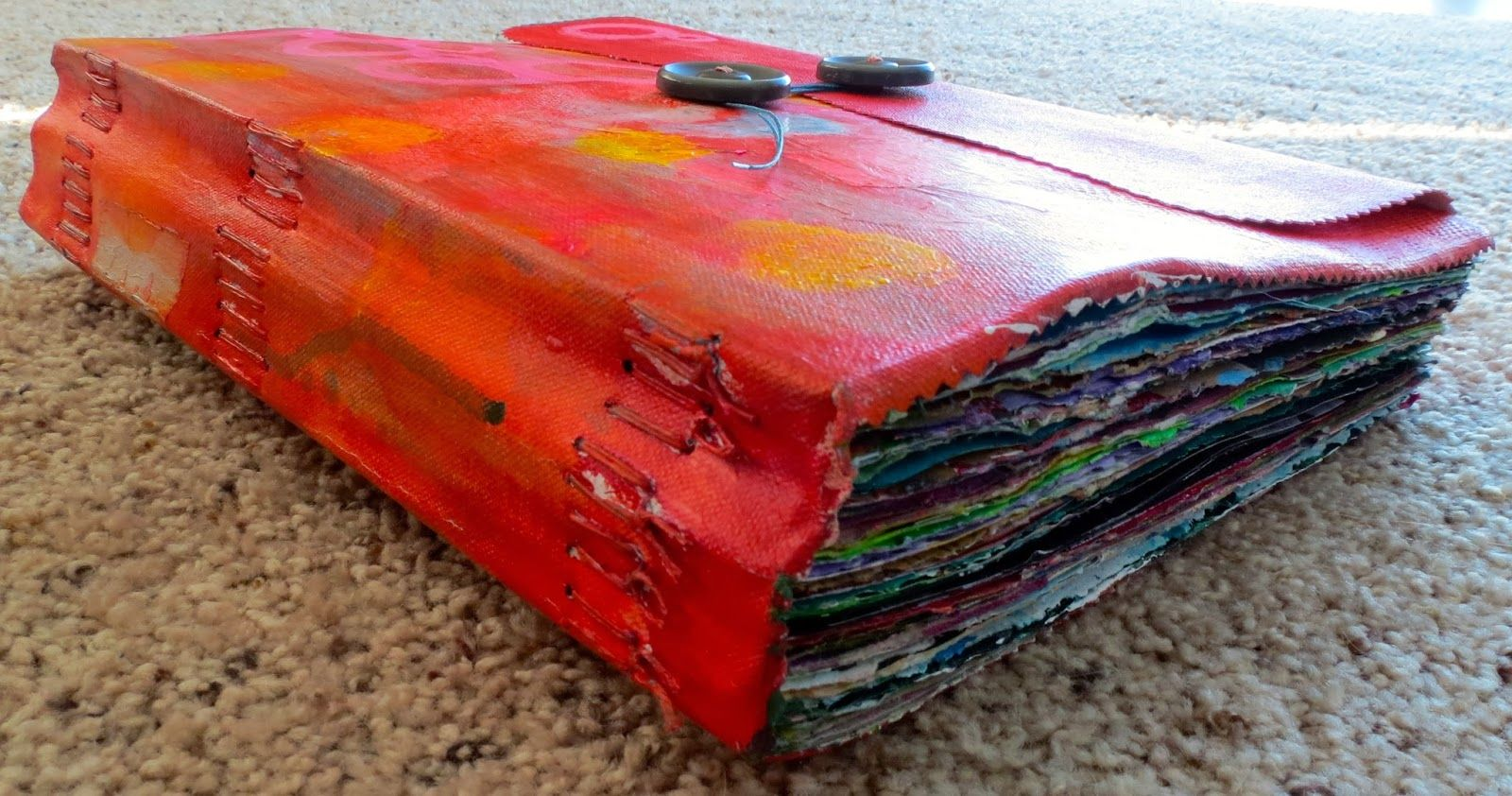 Inspiration Everywhere: Finish 'er Up Friday...My journal is FULL!