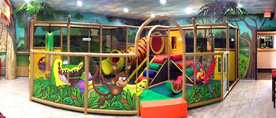 Commercial Indoor Playground Structures And Playground Equipment. Custom  Theming And FEC Development.