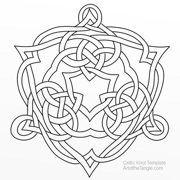 celtic knot templates