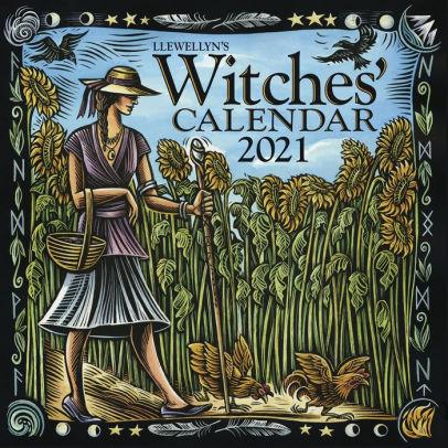 Llewellyn's 2021 Witches' Calendar by Llewellyn, Calendar ...