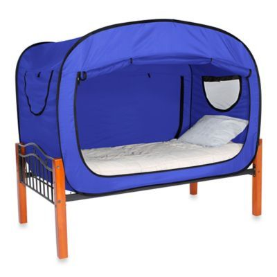 Privacy Pop Bed Tent Twin Size 129 99 Could Use For The Puppies Bedbathandbeyond