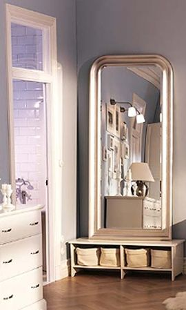 ikea songe mirror like this for the mbr goodies for my home pinterest bedrooms feng. Black Bedroom Furniture Sets. Home Design Ideas