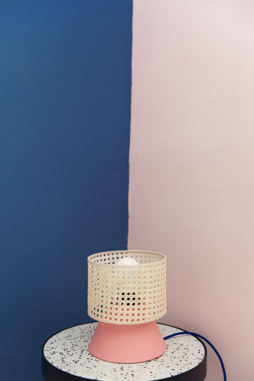 Comment Customiser Une Lampe De Chevet diy #95 lampe modulable en cannage (en suspension ou en