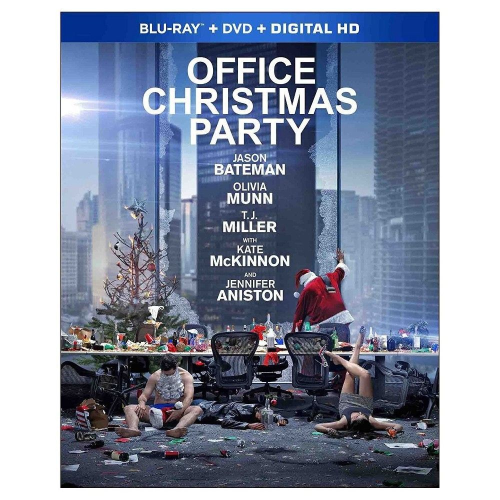 Office Christmas Party (Blu-ray + Dvd + Digital) | Office christmas ...