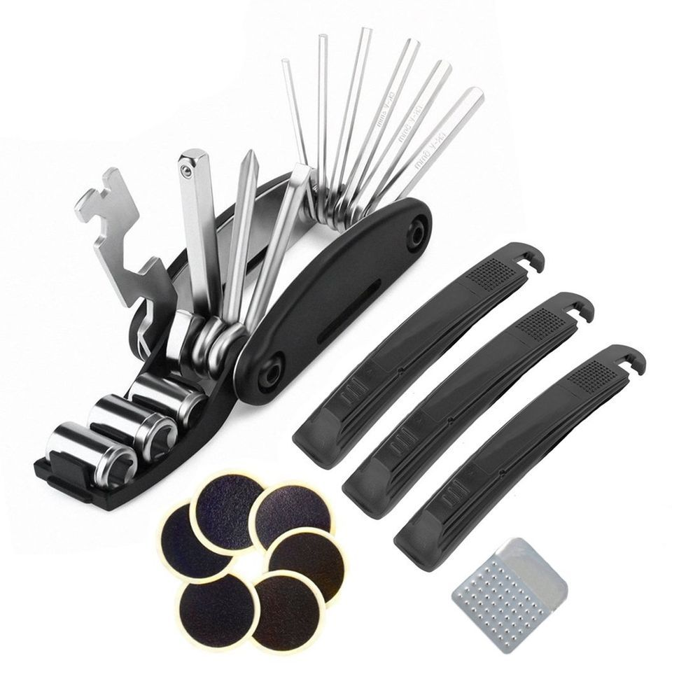 Cycling Bicycle Bike Tire Tyre Puncture Repair Tool Kit Tool Tire Patch Rasp S