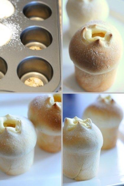 크림빵...넘치는 크림으로 주체할수 없는 유혹에 빠져드는~~ 화이트 크림 왕관빵 (정말 앙증맞고 정말 맛나요~) : 네이버 블로그