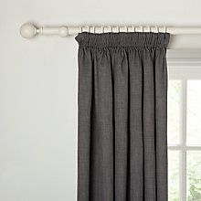 Buy John Lewis Barathea Lined Pencil Pleat Curtains Online At - John lewis curtains grey