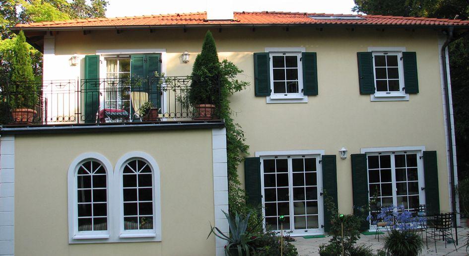 mediterrane stadtvilla im fertigbau | heifert fertighaus | house ... - Stadtvilla Fertighaus