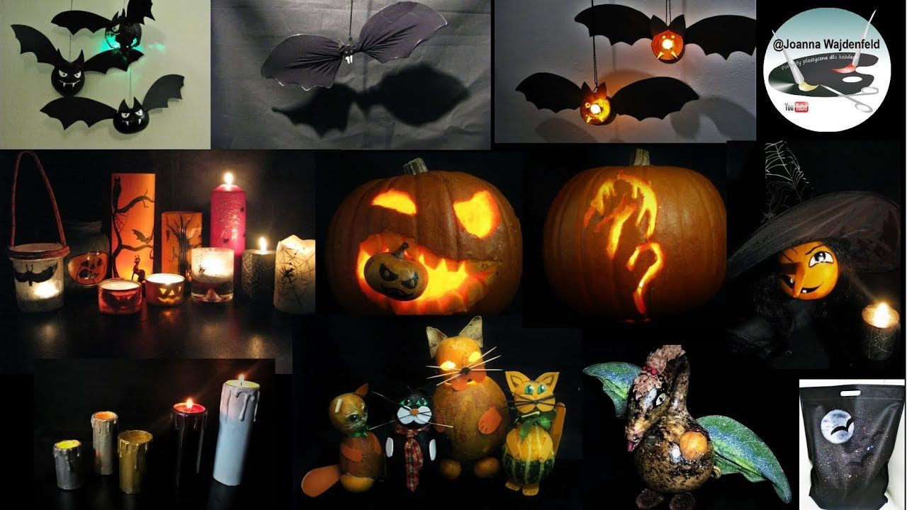 Jak zrobić proste dekoracje na Halloween [EASY HALLOWEEN