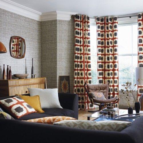 Tecidos e papéis de parede da Harlequin. Disponíveis na Bela Arte Conceito.