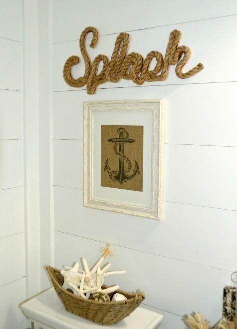 Anchor Decor for Bathroom Luxury Nautical Beach Bathroom ...