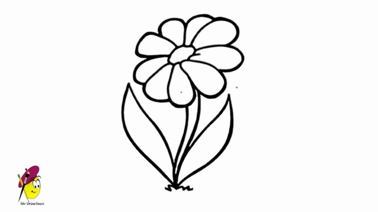Youtube Coloring Flowers Unique Simple Flower Drawing How To Draw Very Easy Youtube Flower Drawing Tumblr Flower Drawing Simple Flower Drawing