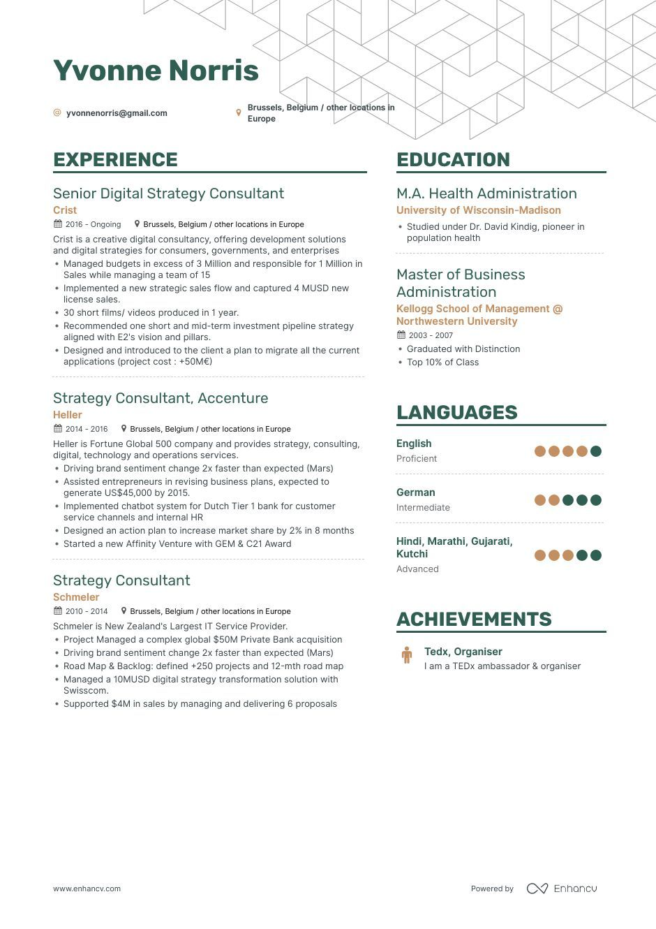 The ultimate 2019 guide for Strategy Consultant resume