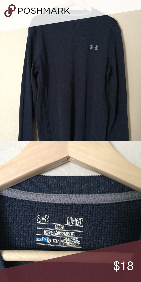 Under Armor Loose Fit Coldgear Long Sleeve Thermal