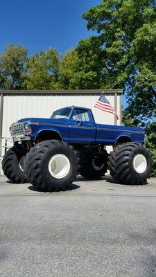 1979 Ford F 350 Monster Truck For Sale In West Virginia Mud Trucks