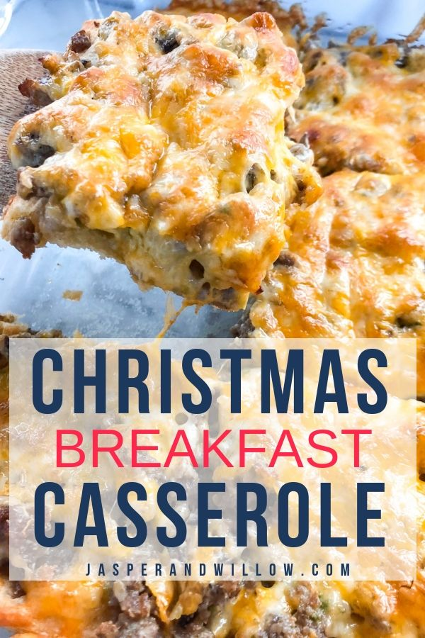 Easy Christmas Breakfast Casserole