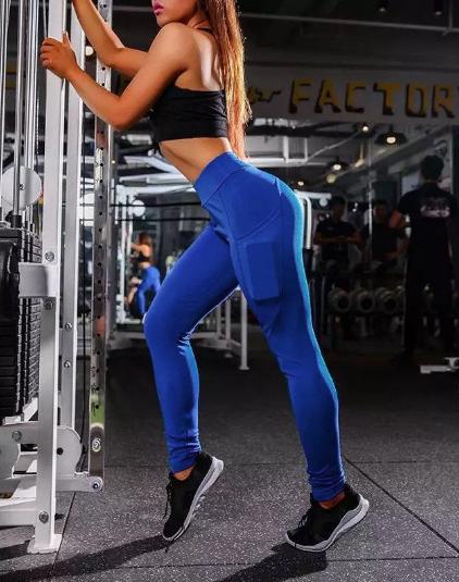 Royal Blue Workout Leggings Women Yoga Pants Fitness Leggings Women Yoga Women Yoga Pants Women
