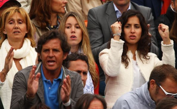 Rafael Nadal S Mother Ana Maria Perera Sister Isabel Nadal And Rafael Nadal Rafa Nadal Isabel