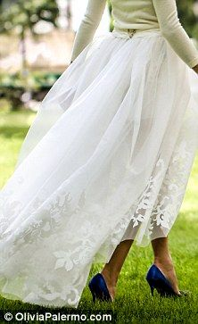 Olivia Palermo makes a beautiful bride as she weds Johannes Huebl in intimate civil ceremony | Mail Online