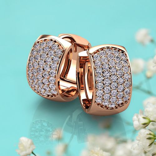 Diamond Stud Earrings White Gold For Men Women Pearl Hoop 1 Carat Affordable Princess Cut Rose