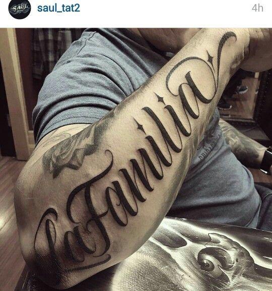 Script Tattoo Posterior Of Forearm Tattoo Lettering Tattoos Tattoo Script