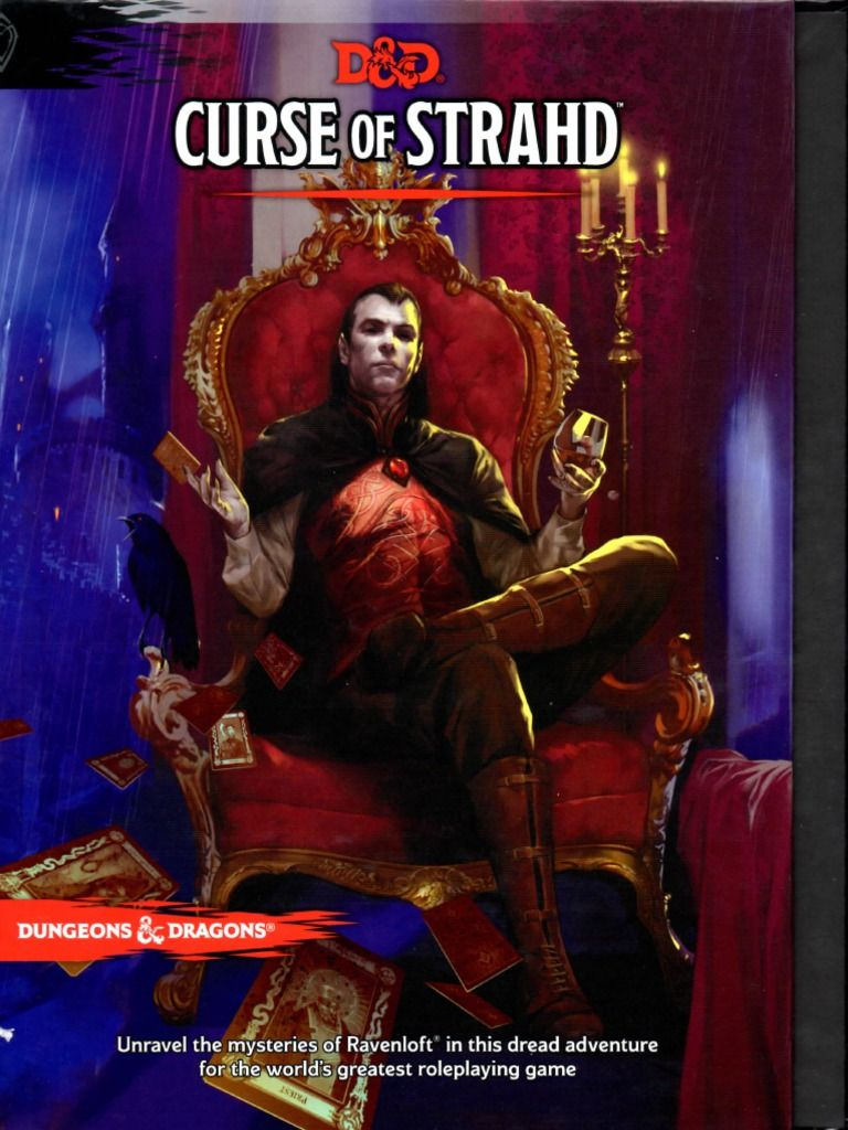 Curse Of Strahd Free Ebook Download As Pdf File Pdf Text