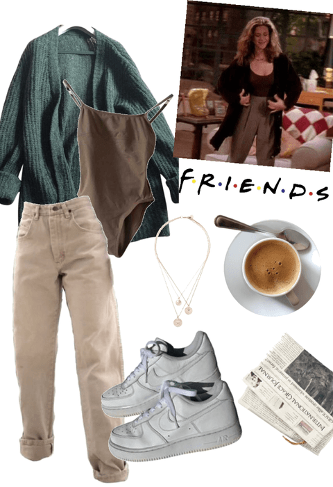 Monica Geller Outift #4 Outfit #rachelgreenoutfits