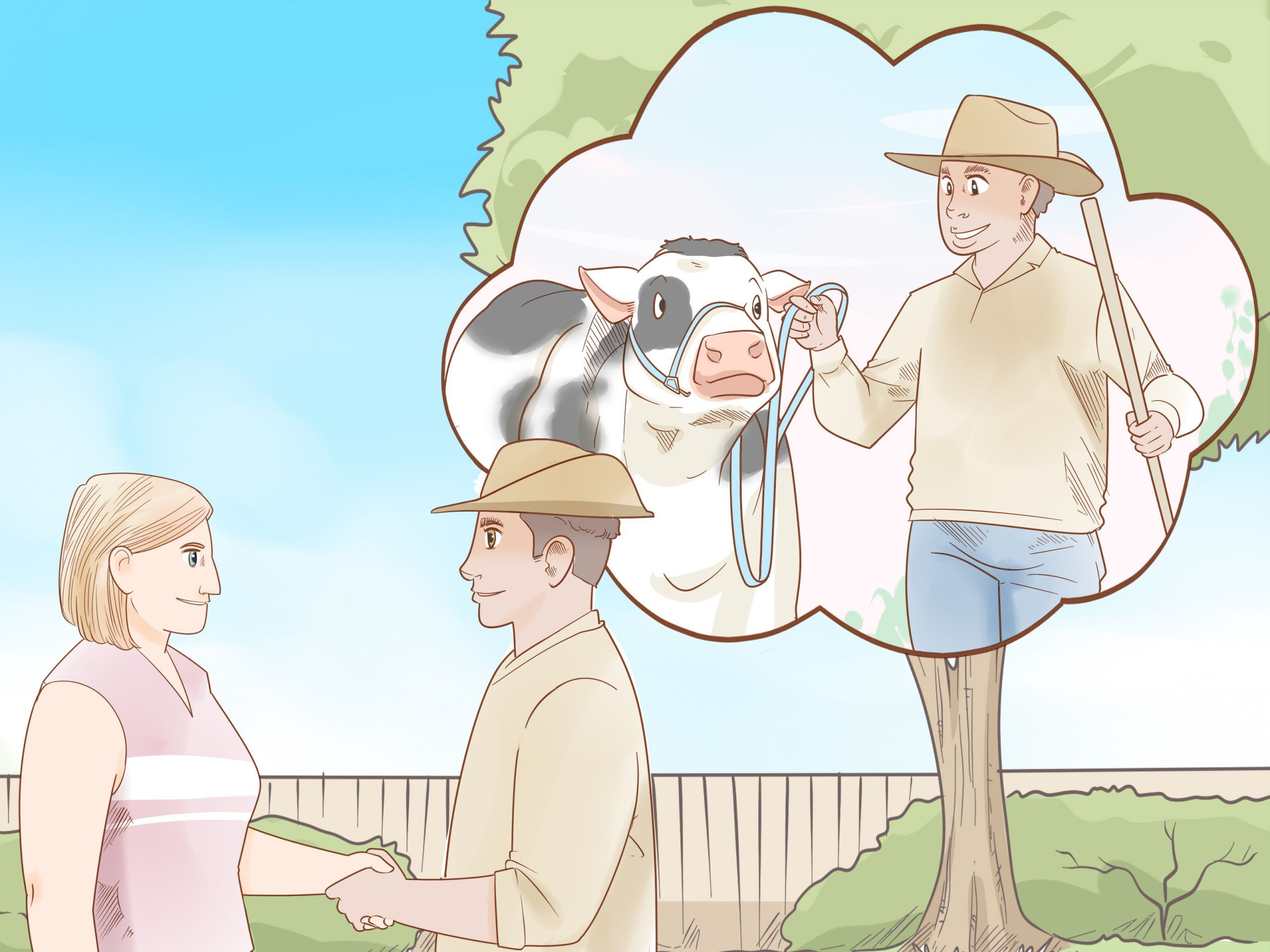 7 Farm Animals Activities Videos Care For Cattle Step 15