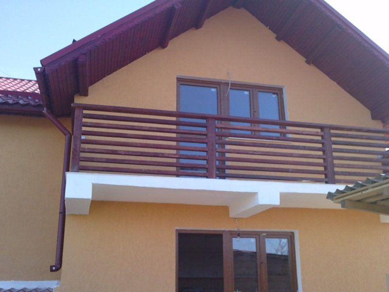 Balustrade din lemn garduri din lemn home d cor d cor for Modele de balcon din lemn