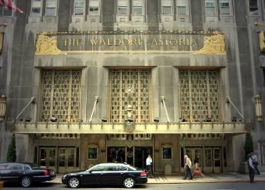 Hotels In New York City The Waldorf Astoria