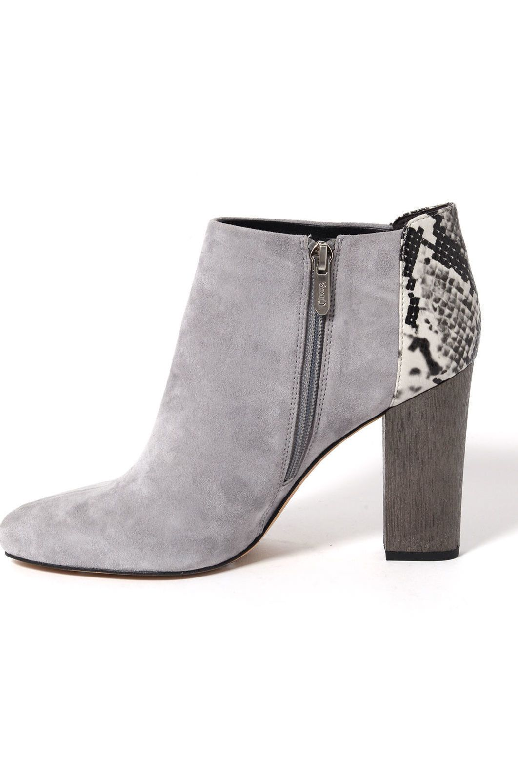 1c0477100776a7 Circus by Sam Edelman Mixed Media Bootie in GREY