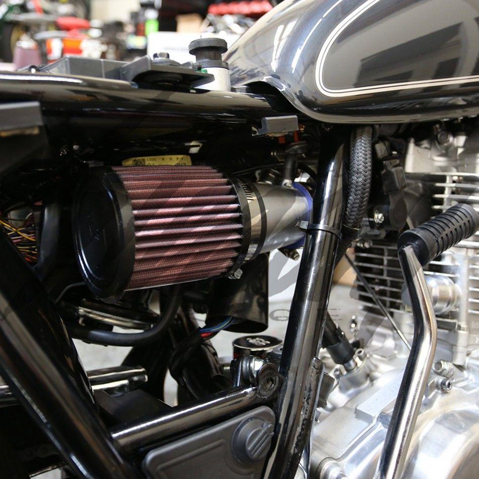 Chimera Yamaha SR400 Cold Air Intake System | Yamaha SR 400 Project