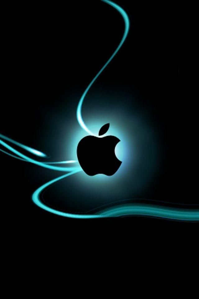 Wallpaper For Iphone Apple Light Iphone Wallpaper Apple Logo