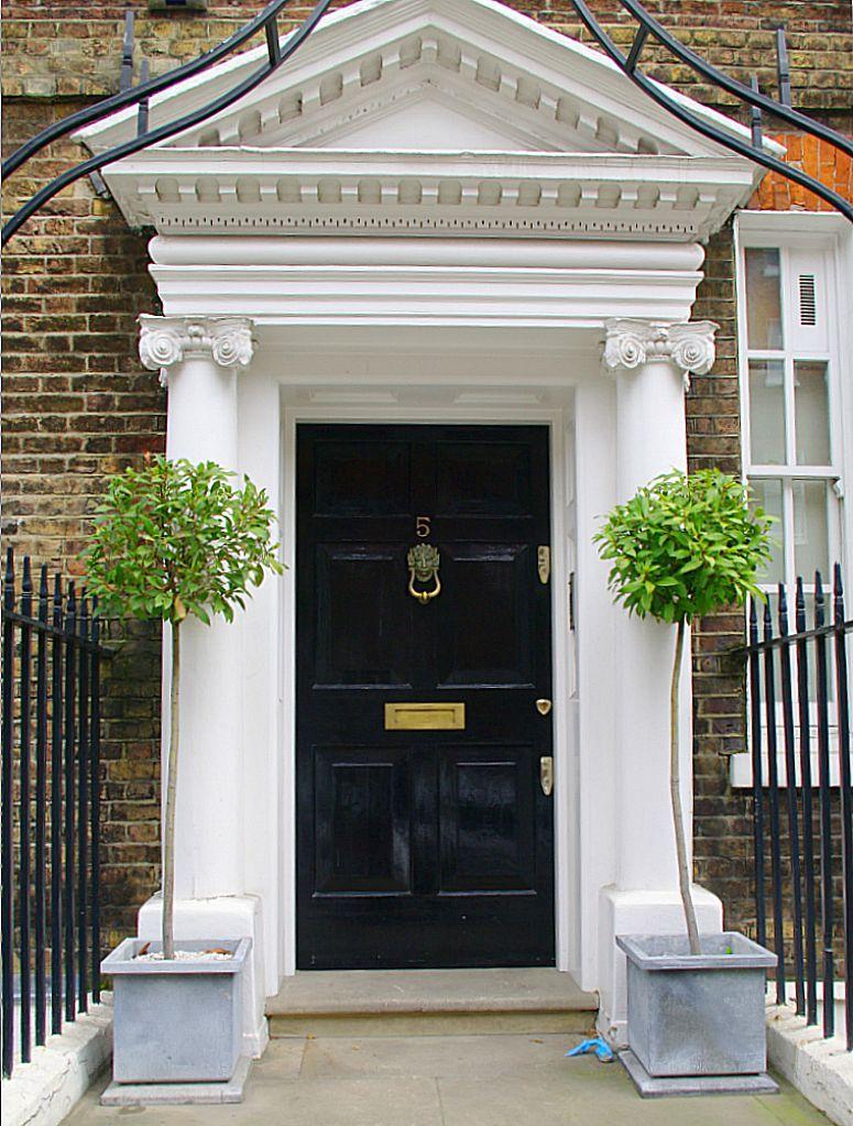 Lion door knockers in georgian britain london england travel front door with lion knocker image tony grant the fact that many georgian rubansaba