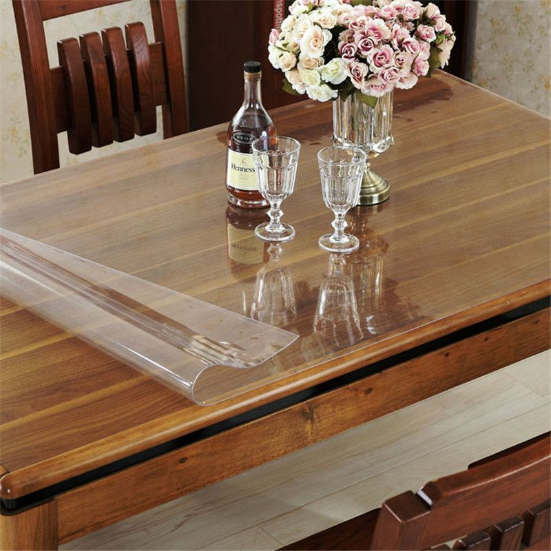 Pvc Waterproof Oilproof Tablecloth Clean Transparent Table Cloth Cover Wedding Decoration Christmas Tablecl Tablecloth Dining Table Cloth Christmas Table Cloth