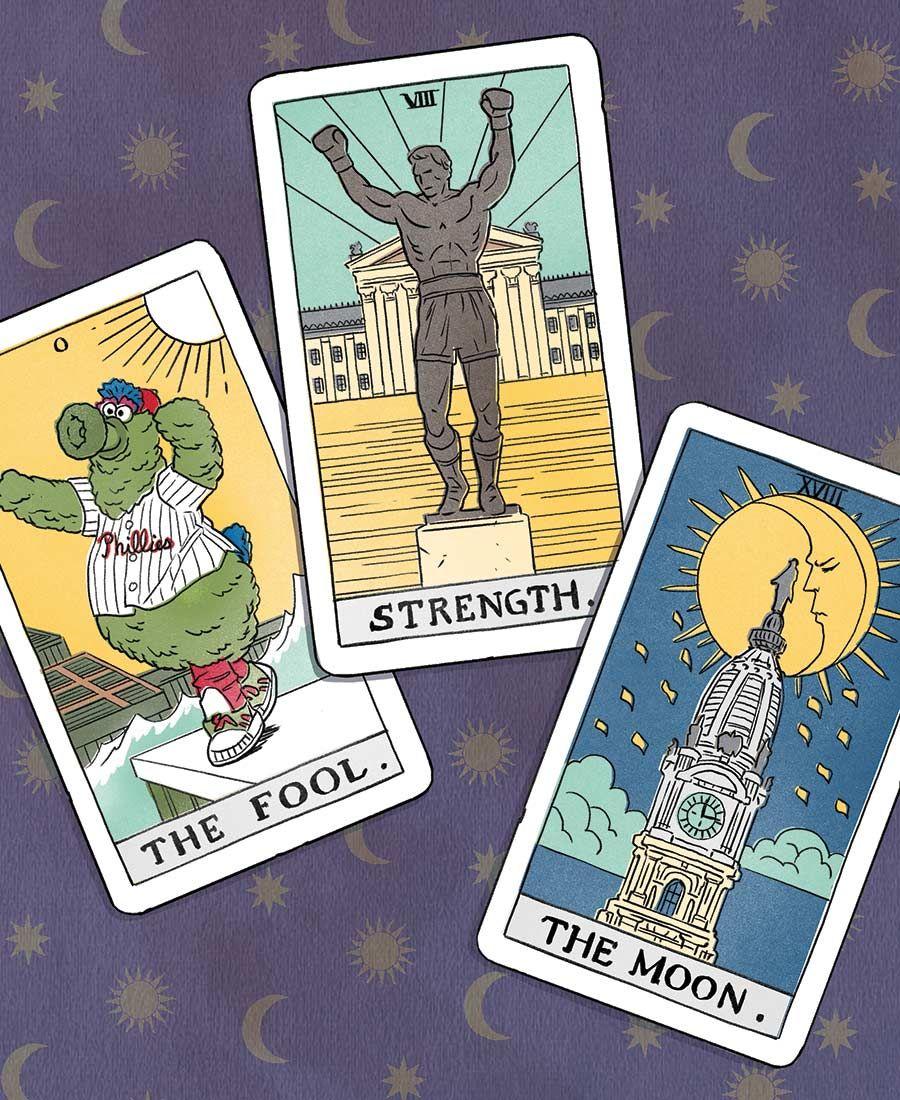So phialdelphia is kinda obessed with tarot cards tarot